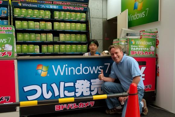 "Linus Torvads dando el ""OK"" a Windows 7 :P"