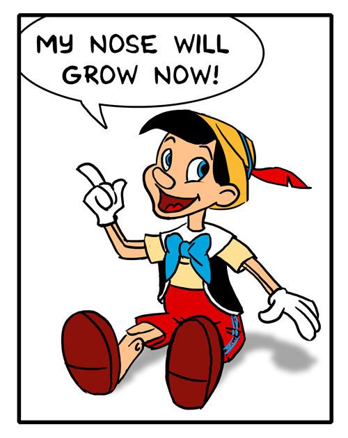 """La Paradoja de Pinocho: """"Mi nariz crecerá ahora"""""""